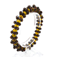 Amber Colored Gem Bracelet