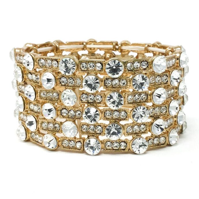 Golden Bridal Bracelet