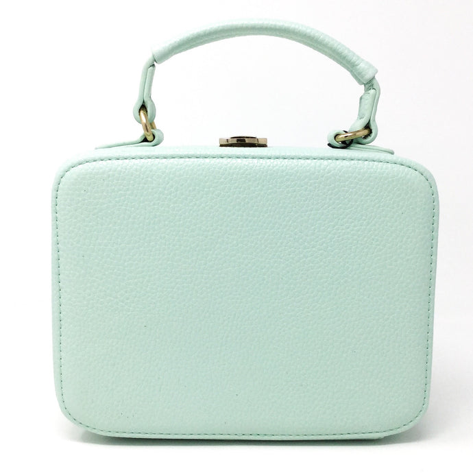 Square Handbag- Mint