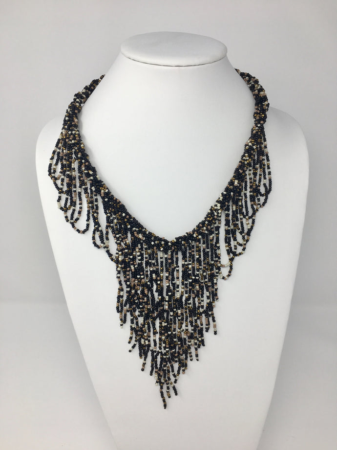 Rope Cluster Necklace