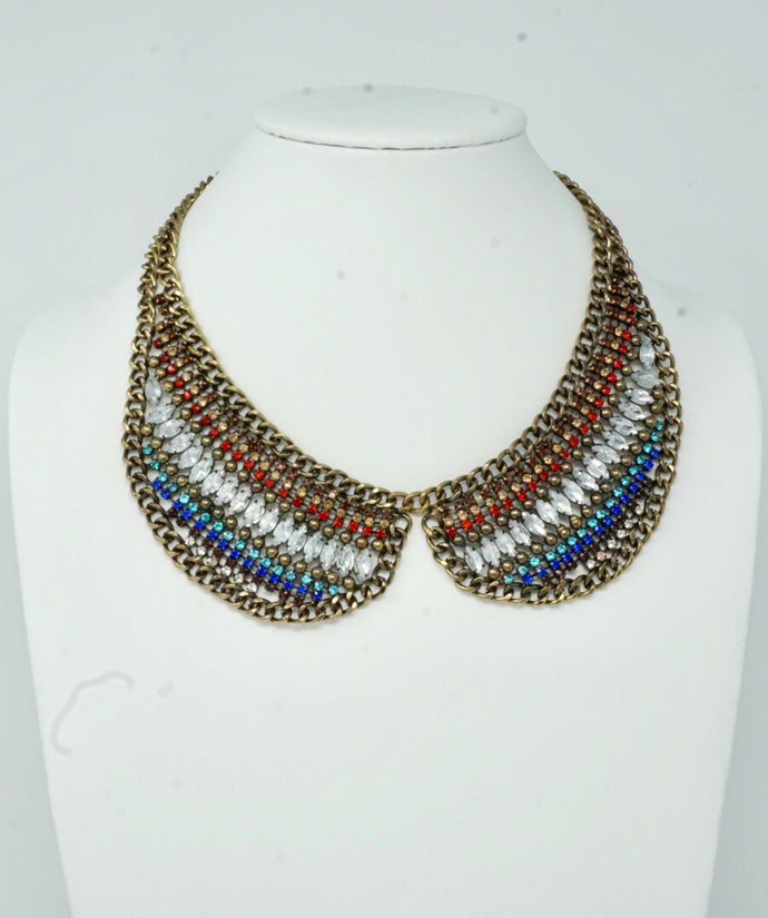 Jaded Collar Necklace Set