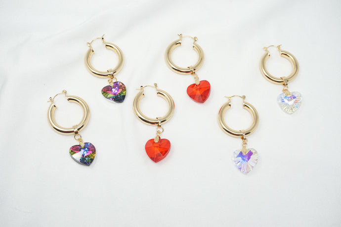 Cupid's Cuff Hoop Earrings
