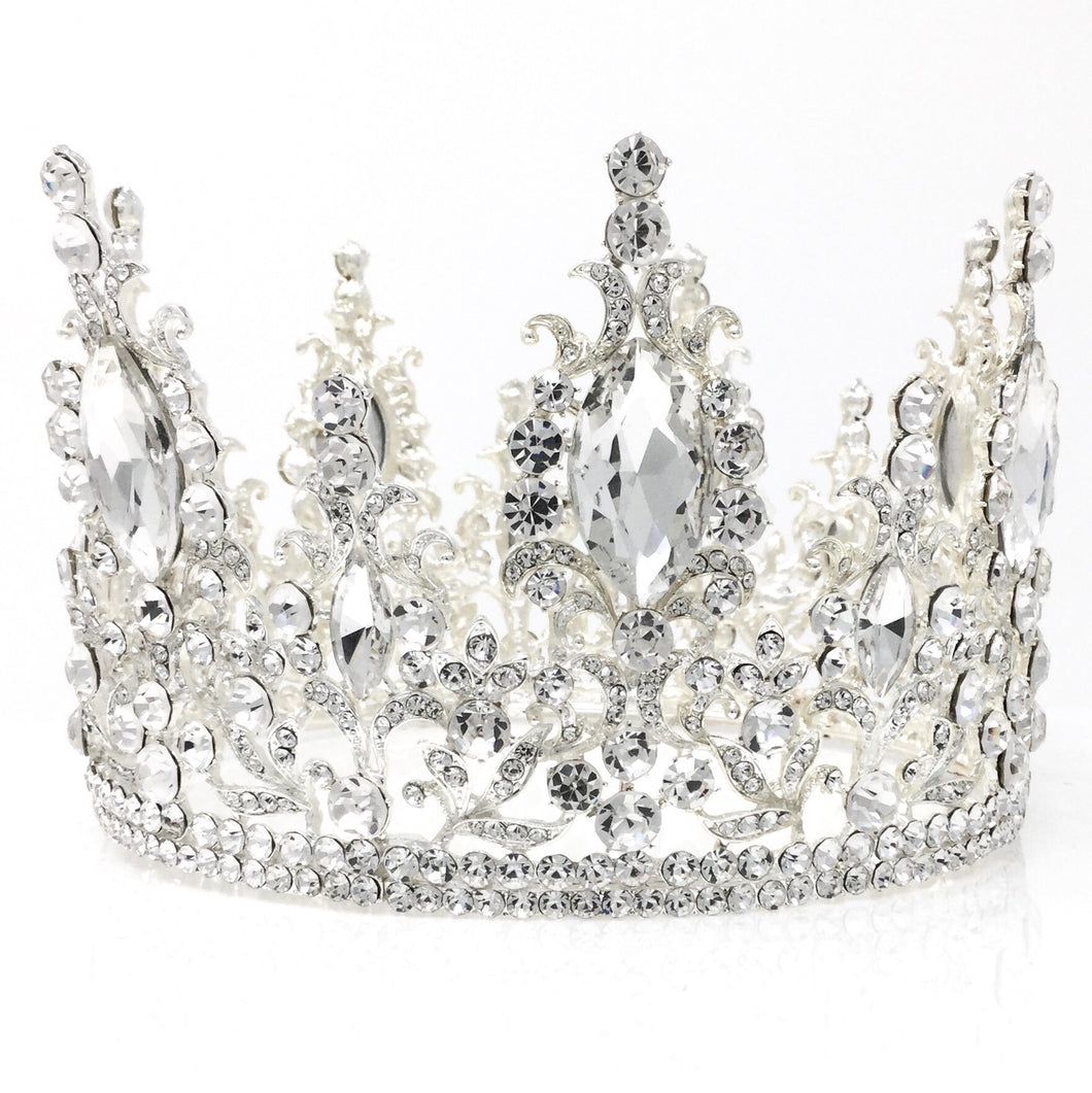 Regal White Crown