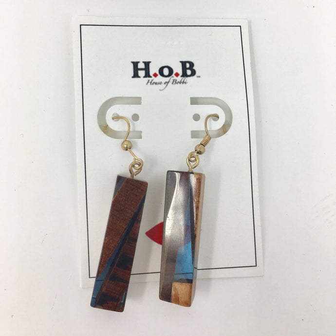 Wood love Earrings