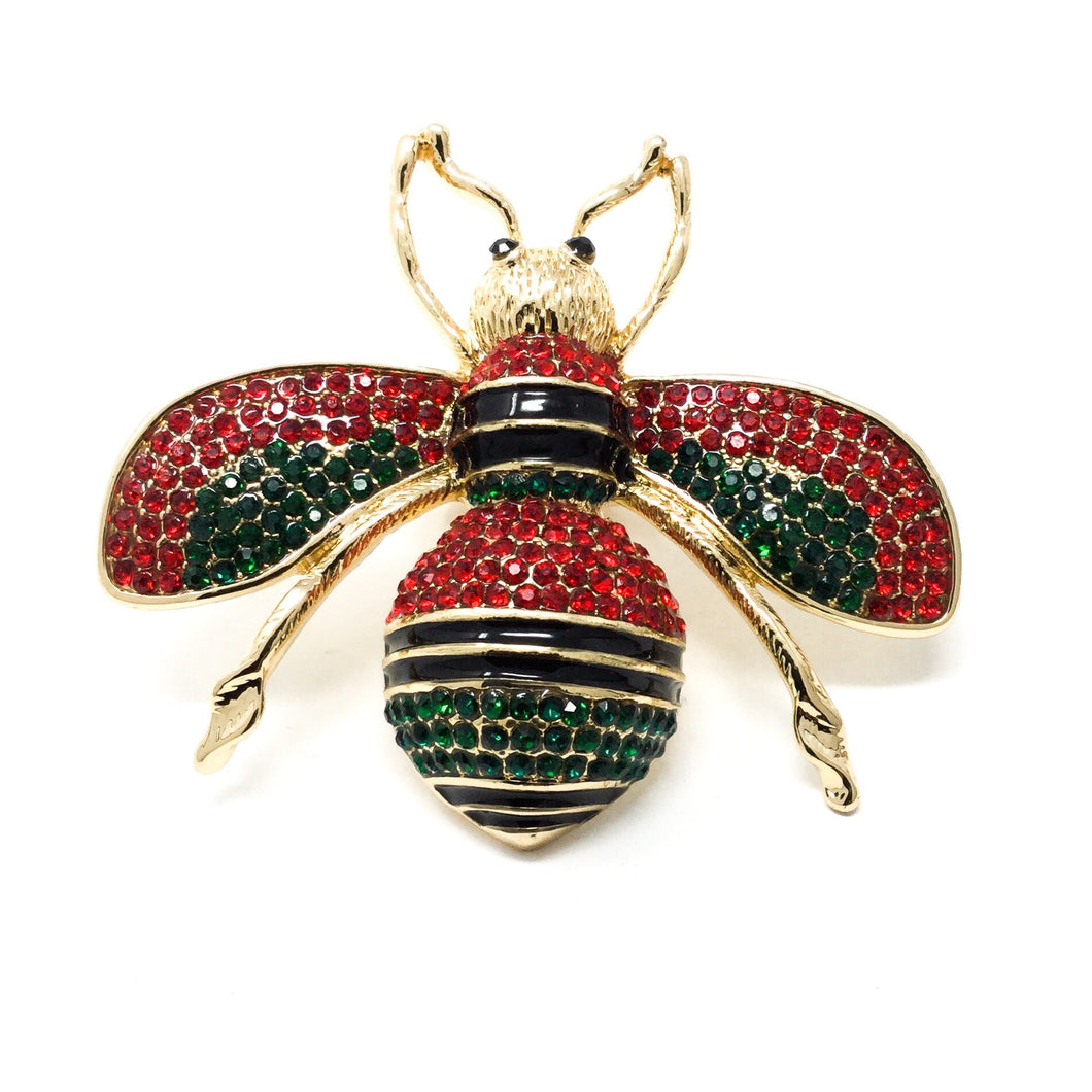 Bee Ring Red and Green