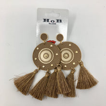 Indian Leather Earrings