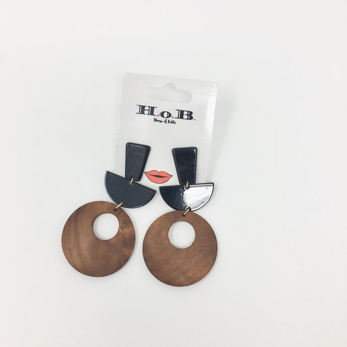 Plywood Earrings