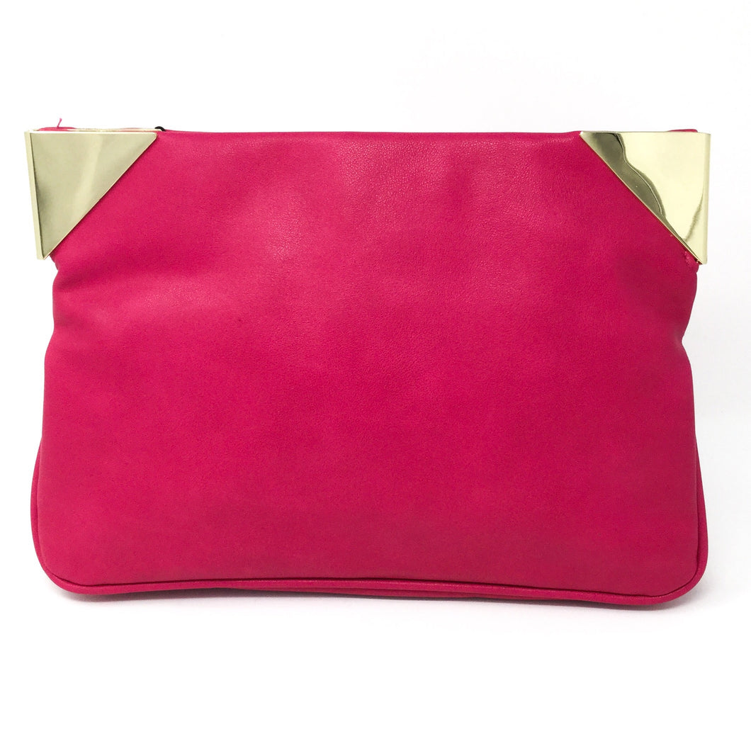 Magnetic Pink Clutch