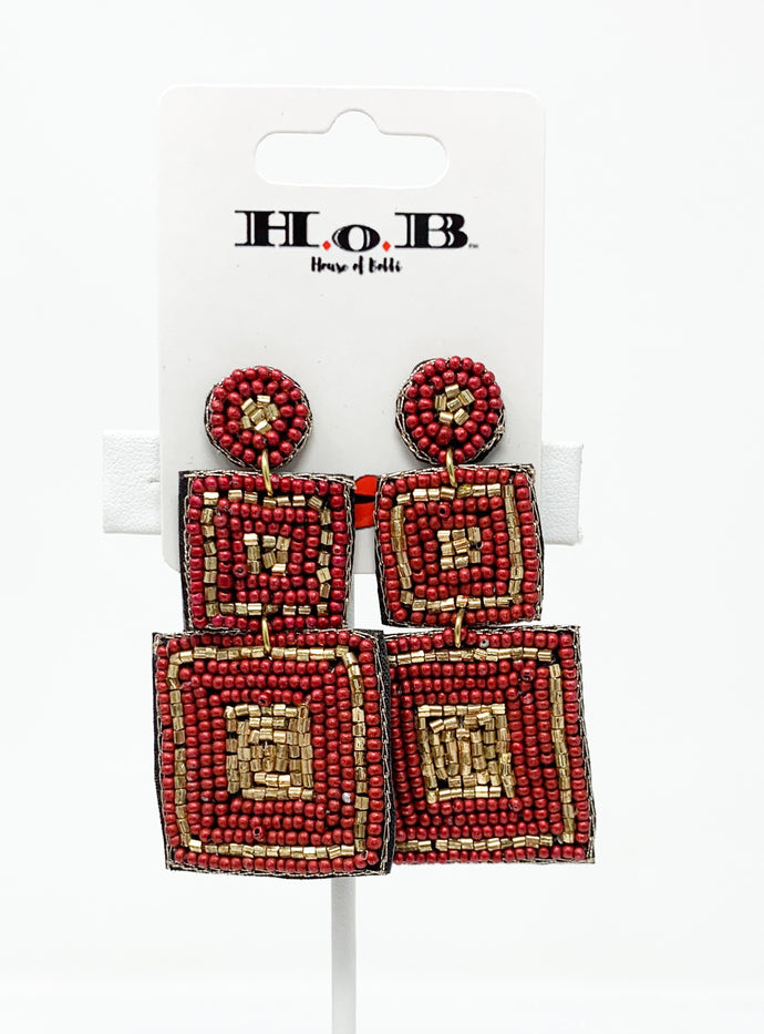 Hiero-Glam Earrings