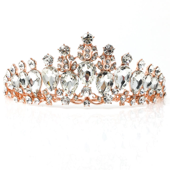 Rose Gold Princess Tiara