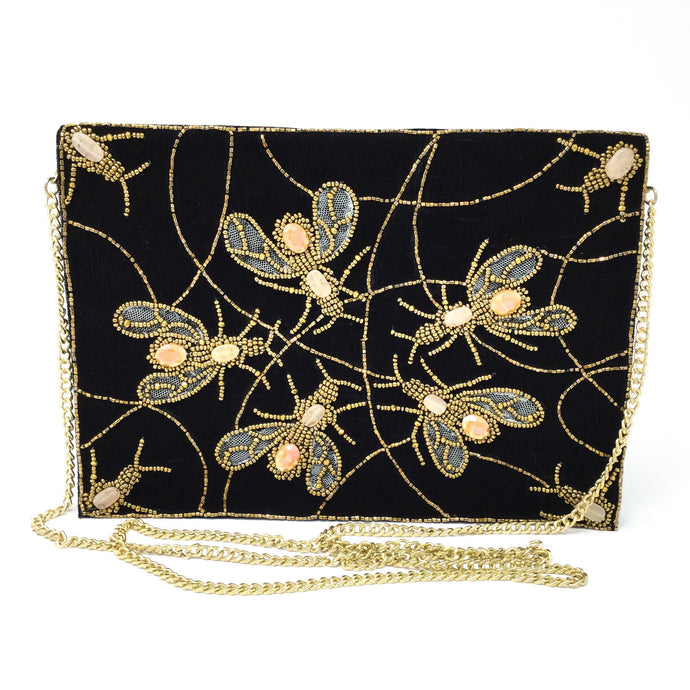 Vintage Spiderweb Clutch