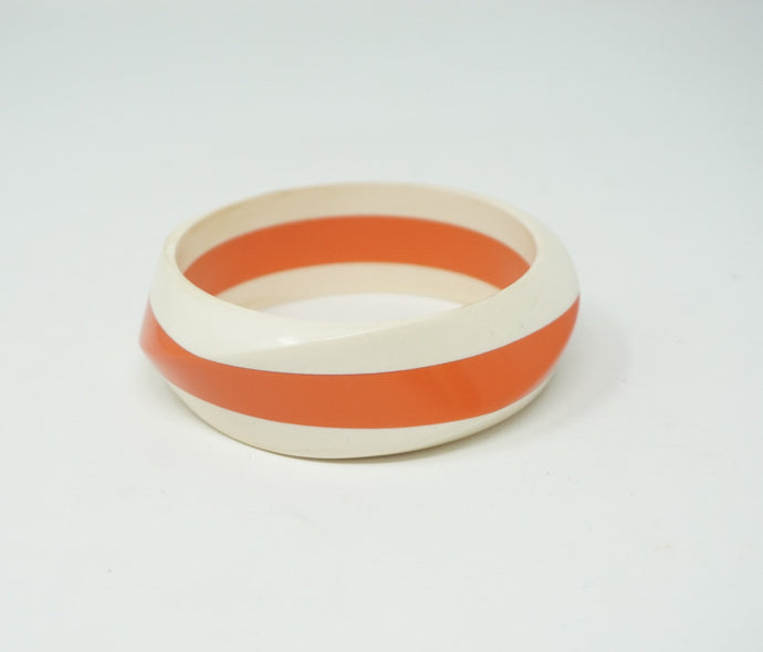 Orange Creamsicle Bangle