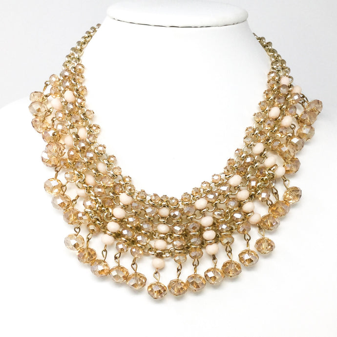 Champagne and Cream Necklace