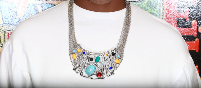 The Art of Traffic Necklace