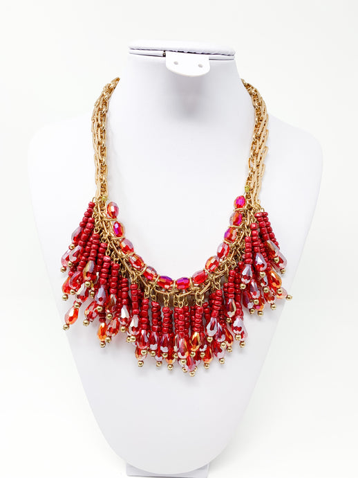 Hot Lava Necklace