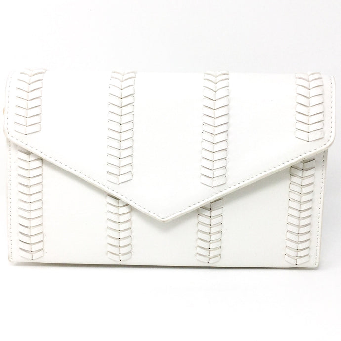 White Handbag Clutch