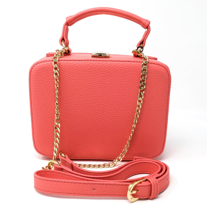 Square Handbag - Melon