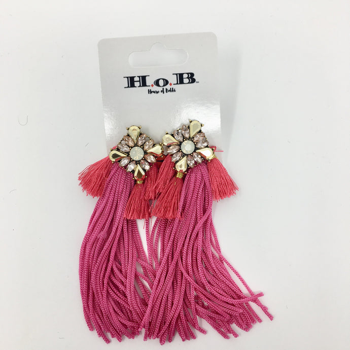 Tassel Shine Earrings