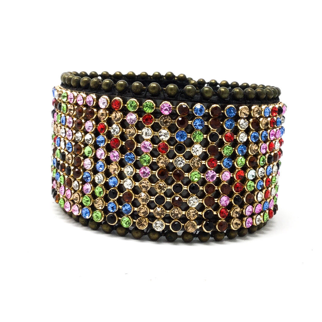 Multicolored Gem Bracelet