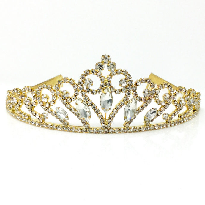 Small Princess Tiaras Gold and Silver