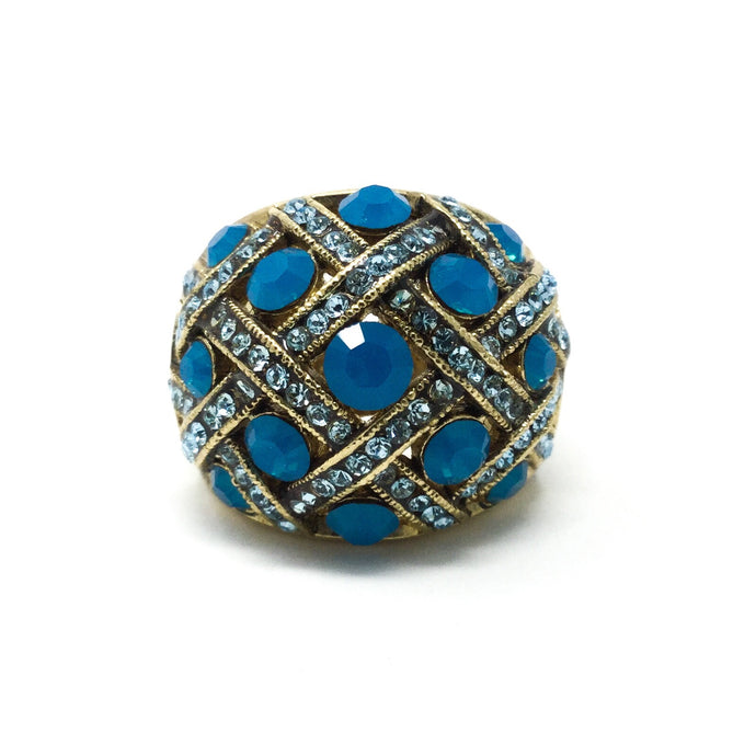 Teal Blue Ring