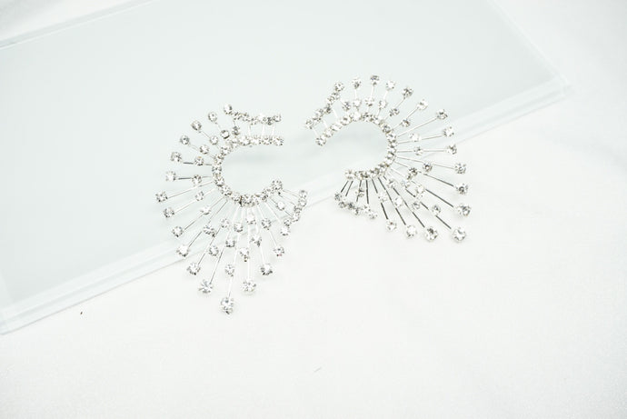 Shimmer Spread Earrings