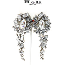 Glam Hanging Gem Earrings
