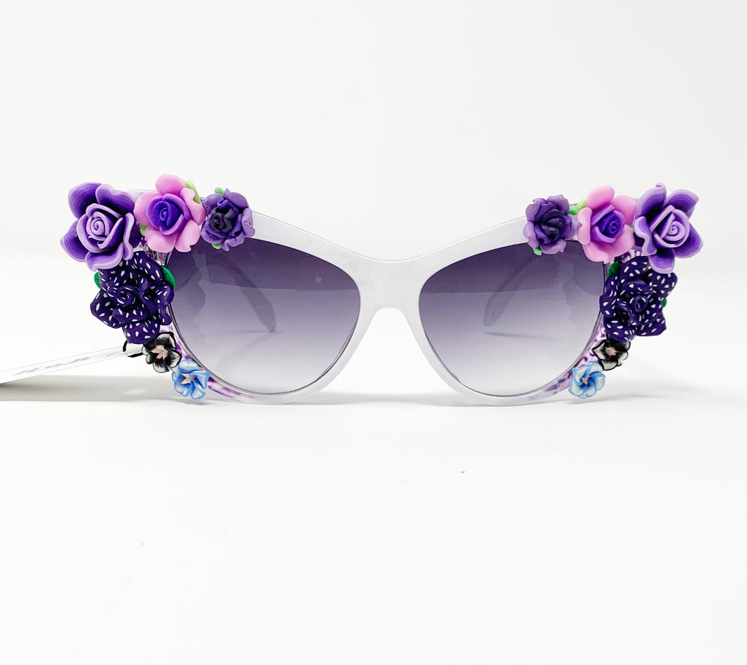 Purple Lotus Sunglasses