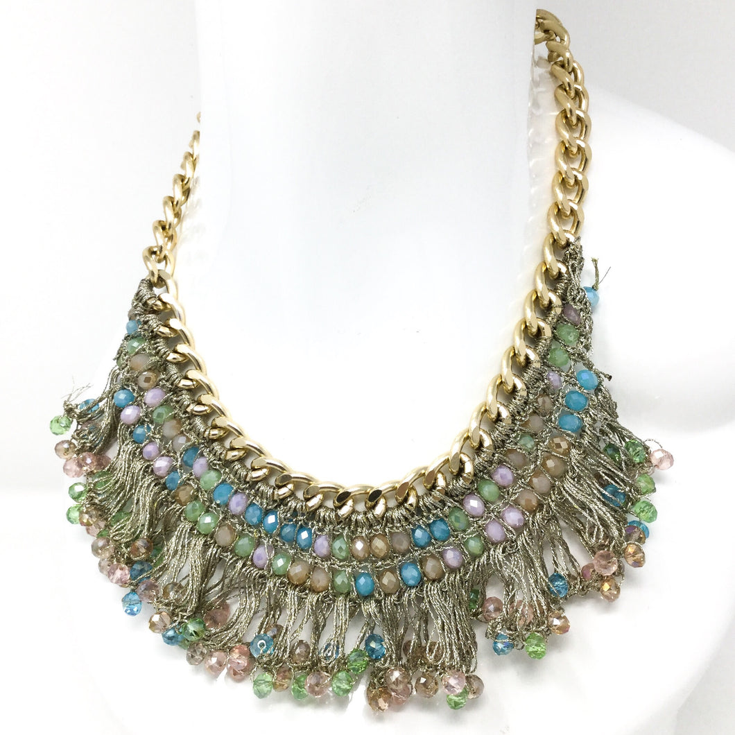 Pastel Gem Necklace