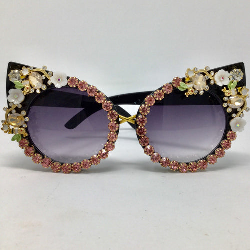 Pink Stone Bumblebee Sunglasses