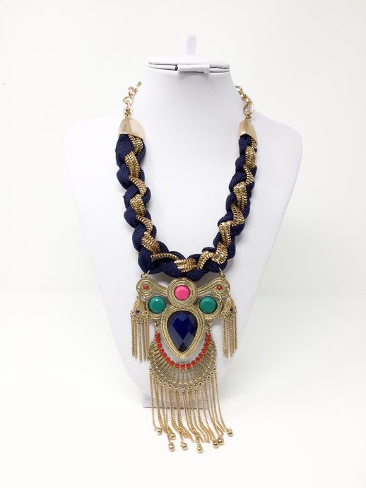 Blue Empress Necklace set