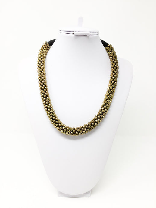 Golden Natural necklace