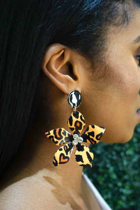 Ferocious Flower Earrings