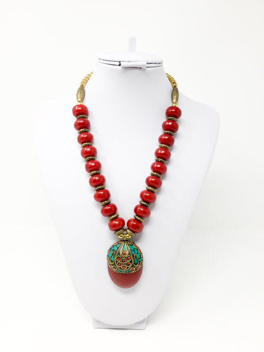 On Fire Necklace