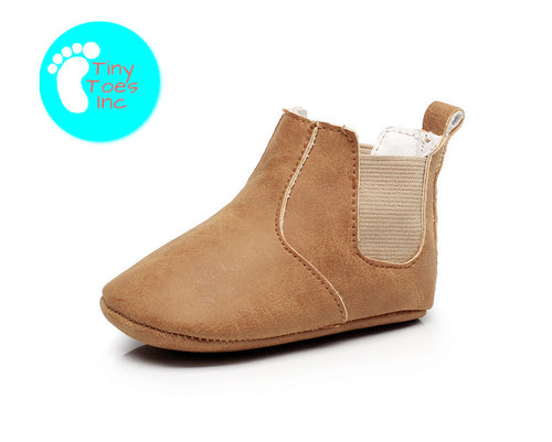 Ukiah Closed Toe Baby Moccasin Boots - 9 Colors Available