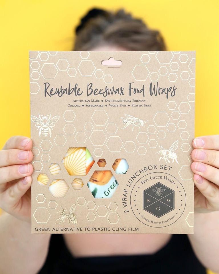 Check out our range of Reusable Beeswax Wraps!