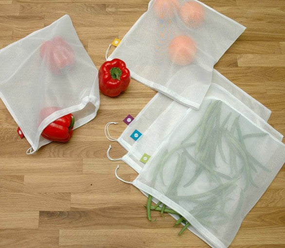Washable Produce Bags - Smart design combining style & quality