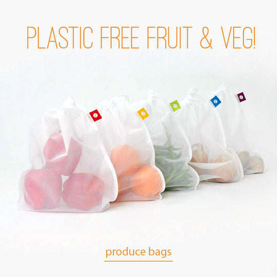 flip and tumble reusable produce bags