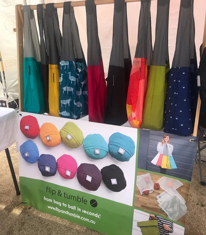 Markets reusable bags