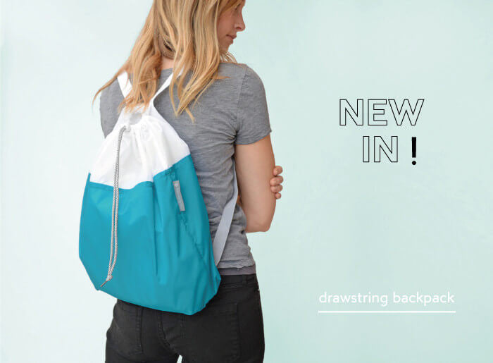 flip and tumble drawstring backpack