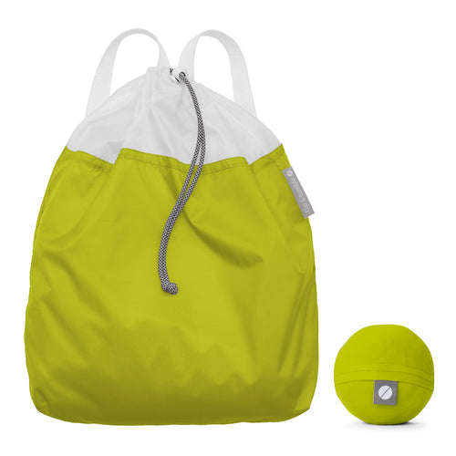 Flip and Tumble Drawstring Backpack Green Lifestyle