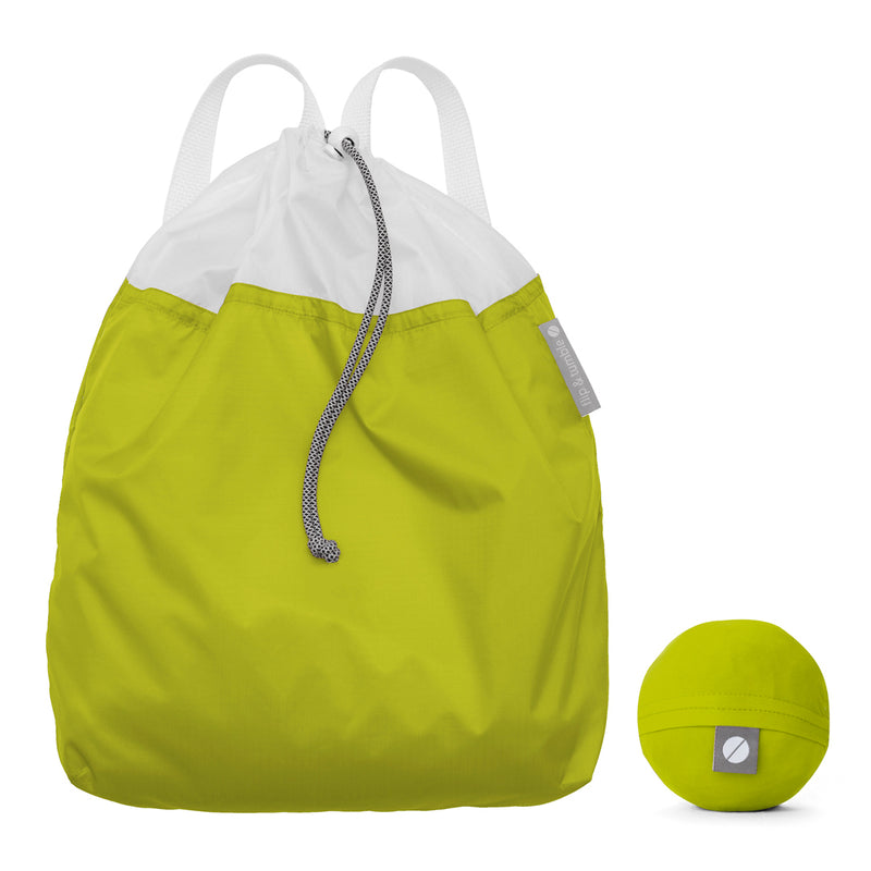 Flip and Tumble Drawstring Backpack Green