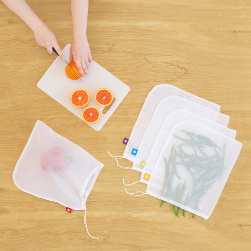 Flip and Tumble Produce Bags Oranges