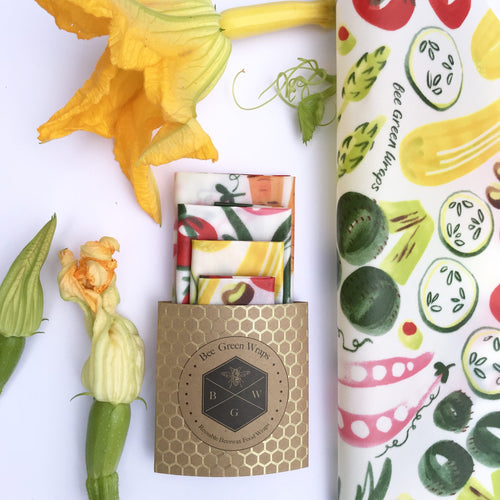 Starter 4 Pack Beeswax Wraps