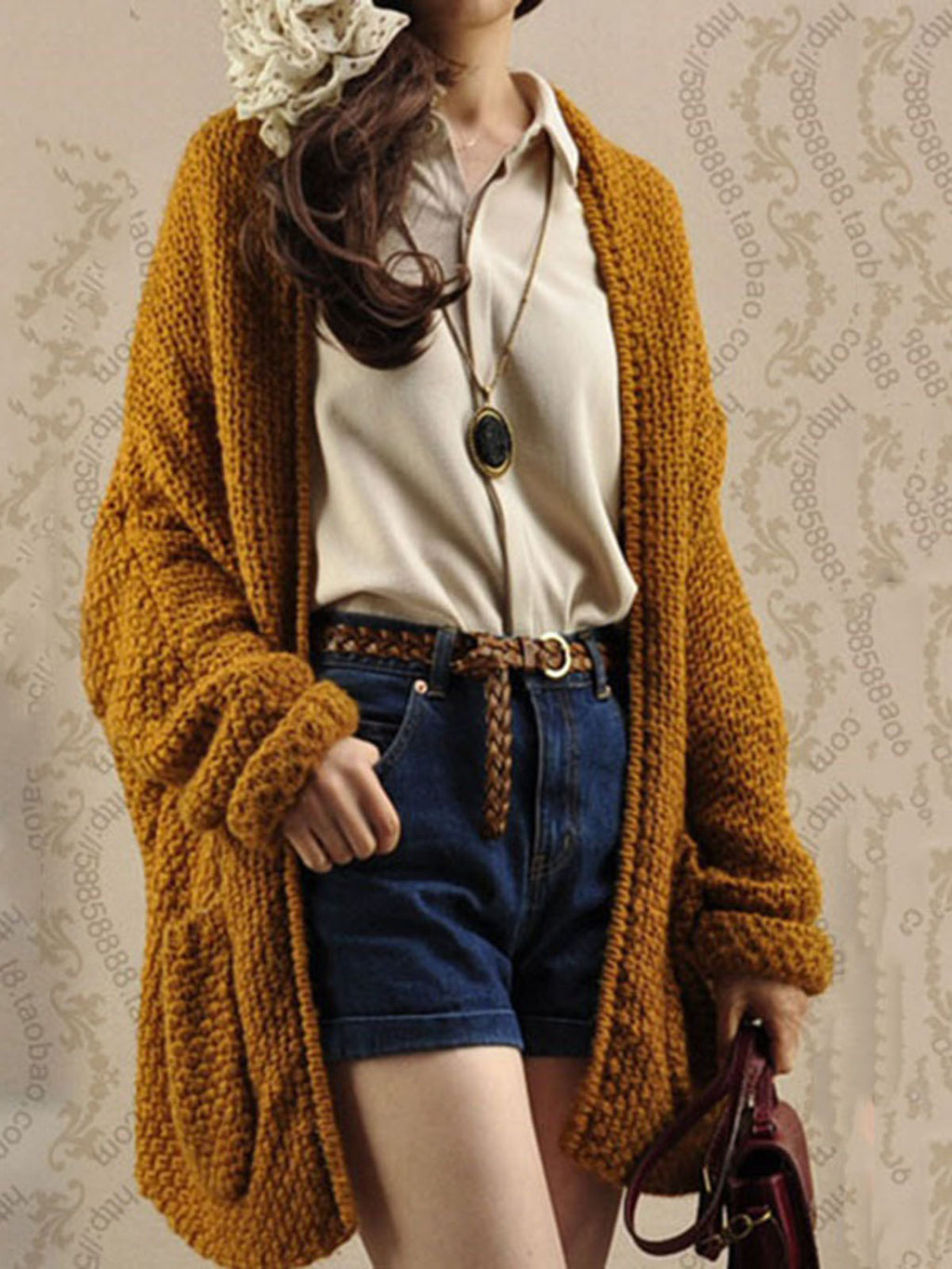 Autumn Winter Cardigan Knitted Outerwear