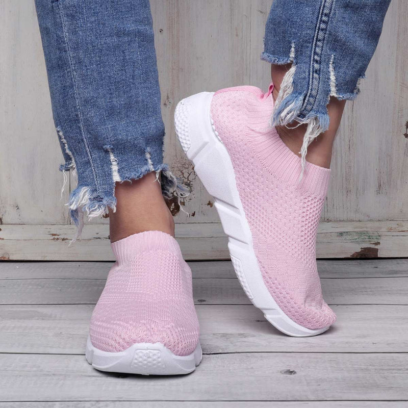Athletic Platform Sneakers