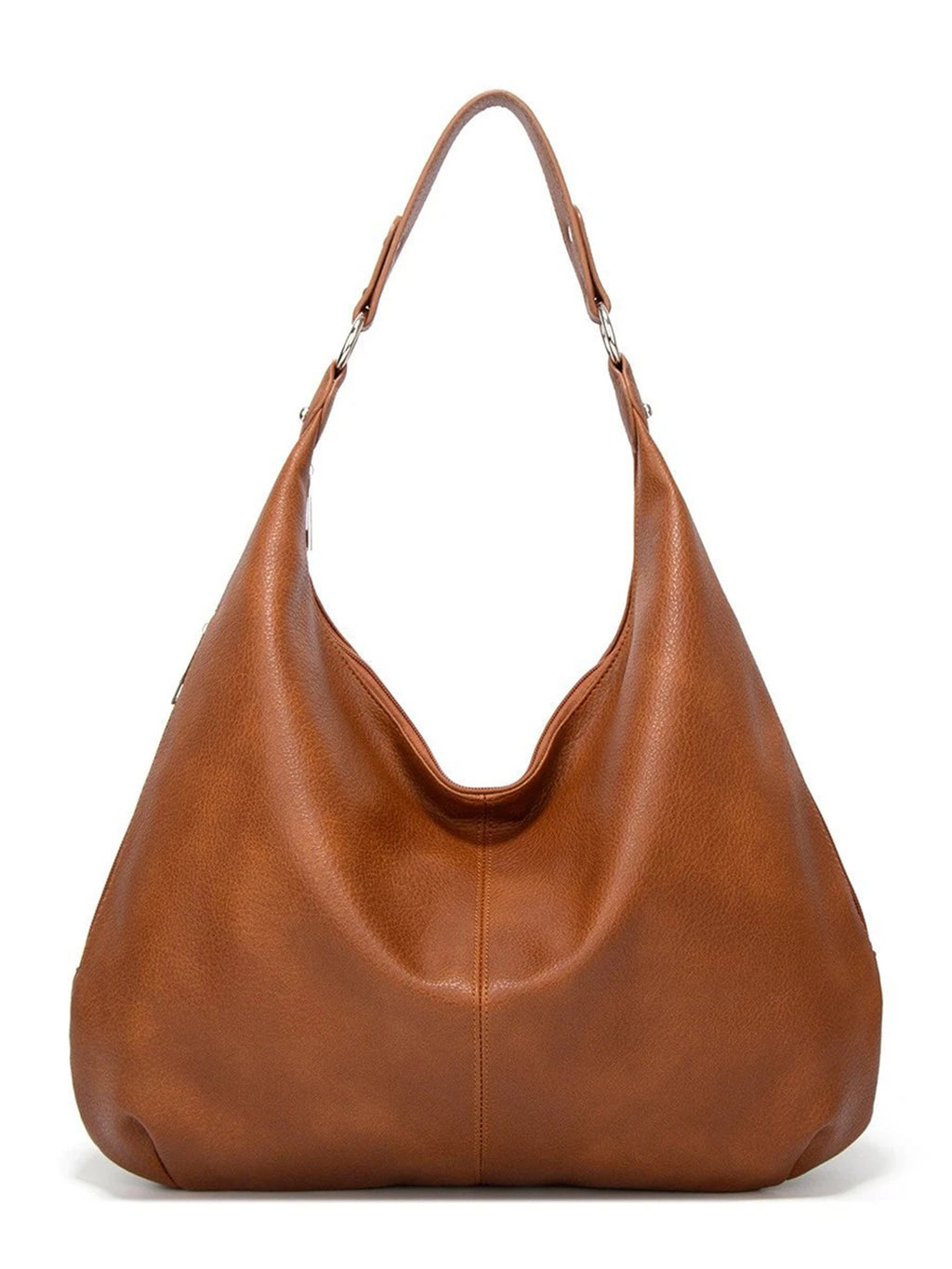 Faux Leather Shoulder Bags