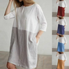 women's Fashion Cotton Casual Dress