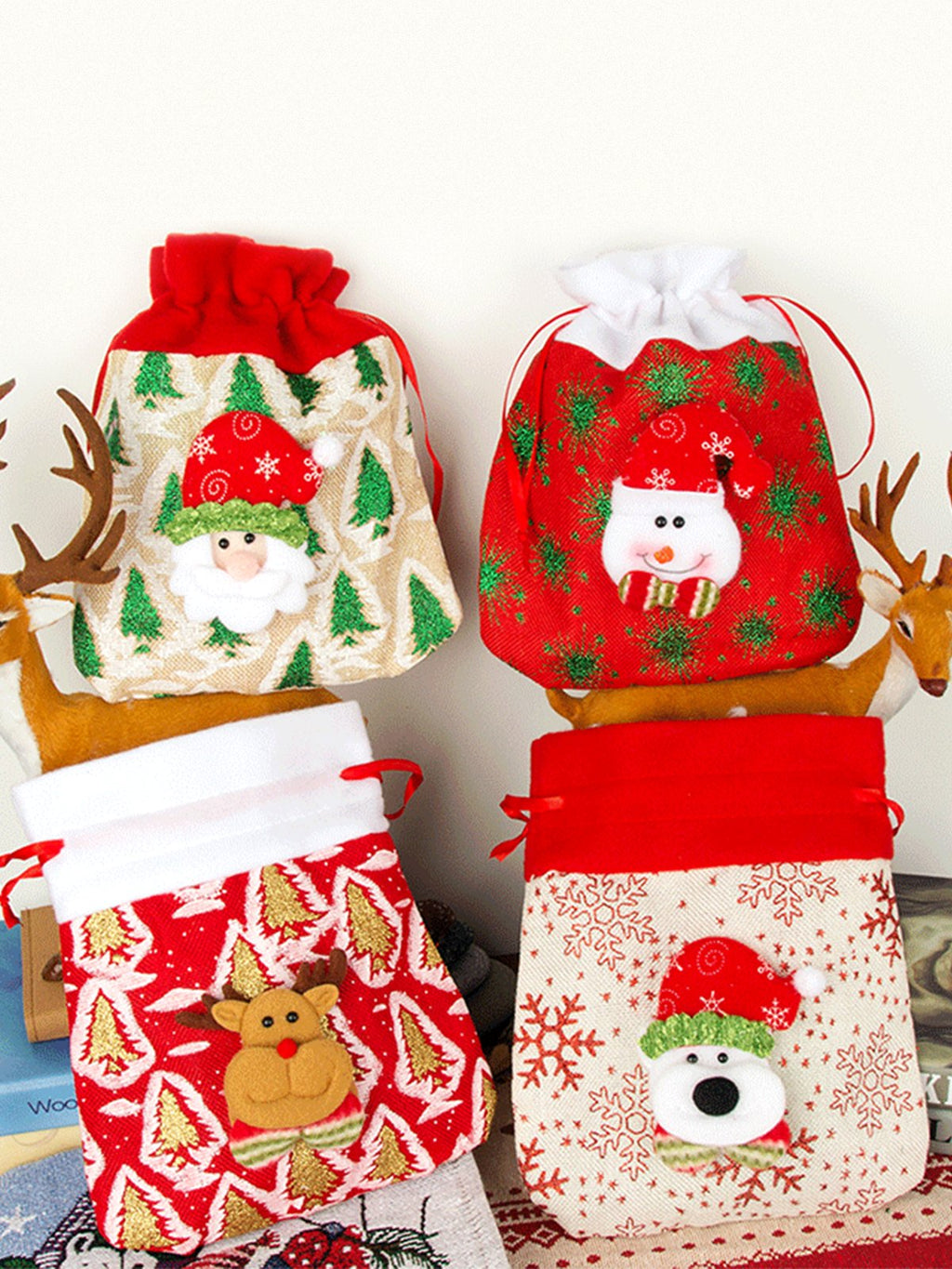 Christmas Santa Claus Candy Bag