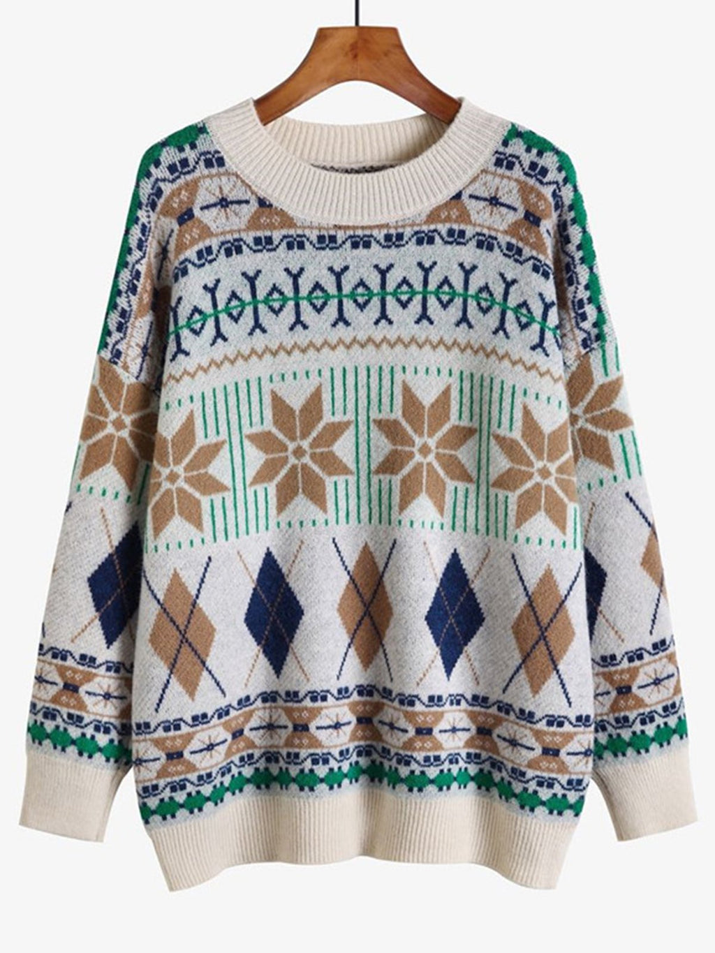 Boho Tribal Sweater